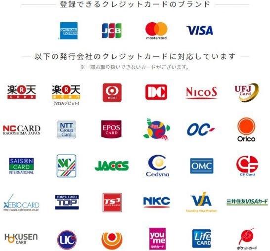 Android Payに登録が出来るクレジットカード
