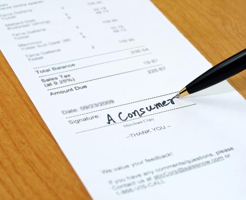 Q.クレジットカード決済の時にサインを求められることがありますが、あのサインは何でしょうか?