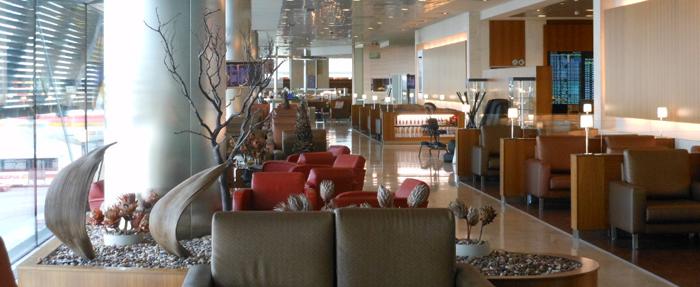 アメックスグリーン 空港ラウンジは同伴者1名まで無料