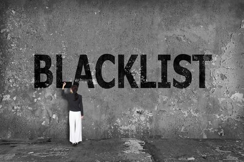 Q. よく聞くブラックリストって一体なに?
