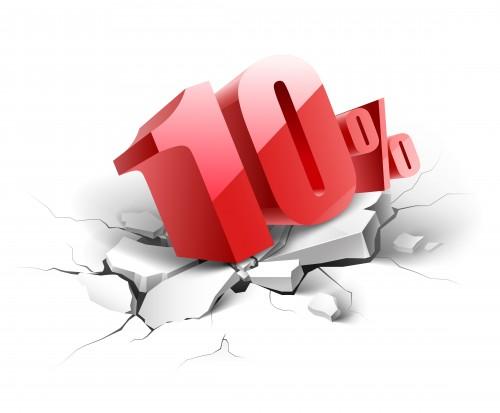 Q.クレジットカード利用で手数料10%ってなに?