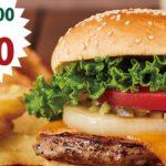 フレッシュネスでQUICPayするとクラシックチーズバーガーが半額の300円