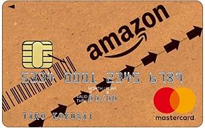 Amazonカードは還元率1.5%
