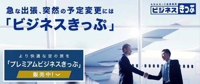 ANAカード専用運賃「ビジネスきっぷ」 サルでも分かるおすすめクレジットカードオリジナル画像