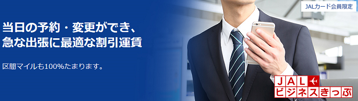 JALビジネスきっぷ サルでも分かるおすすめクレジットカードオリジナル画像
