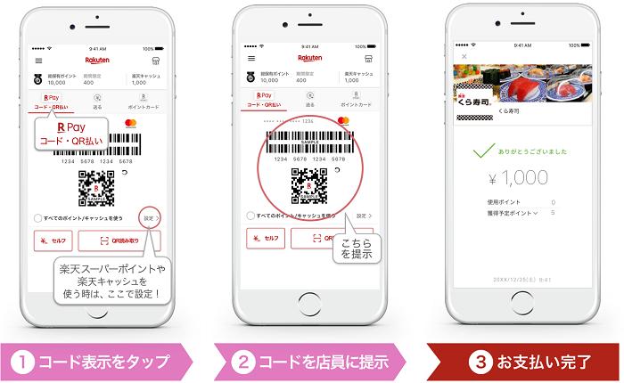 くら寿司で楽天ペイで支払うと還元率2%になる サルでも分かるおすすめクレジットカードオリジナル画像