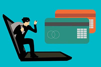 クレジットカード番号を盗まれる