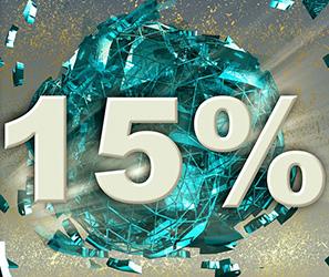 リボ払いは実質年率15.0%の手数料