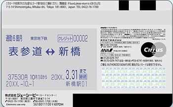 ソラチカカードの定期券機能 サルでも分かるおすすめクレジットカードオリジナル画像