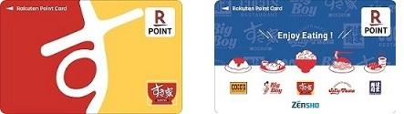 すき家の楽天ポイントカード サルでも分かるおすすめクレジットカードオリジナル画像